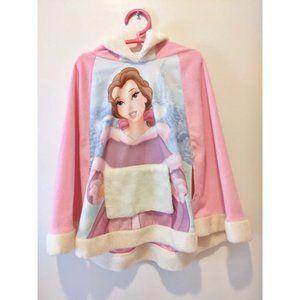 Belle Disney Princess Pink Bolero Kaftan Hoodie